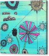 Flower Fever Acrylic Print