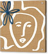 Flower Girl Acrylic Print