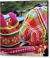 Flower Hmong Baby 05 Acrylic Print
