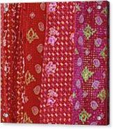 Flower Hmong Velvet Acrylic Print