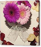 Flower Love Acrylic Print
