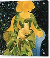 Flower Lovers Acrylic Print