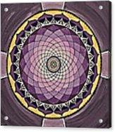 Flower Mandala Acrylic Print