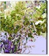 Flower Market Ile De La Cite Acrylic Print