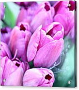 Flower Mart Acrylic Print