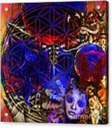 Flower Of Creation  Acrylic Print