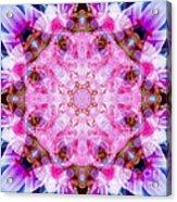 Flower Of Life Lily Mandala Acrylic Print