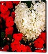 Flower Of My Heart Acrylic Print