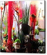Flower Paradise Acrylic Print