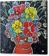 Flower Power Acrylic Print by Matthew  James