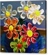 Flower Power Still Life Acrylic Print