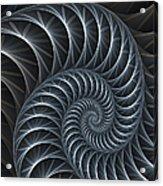 Flower Spiral Acrylic Print