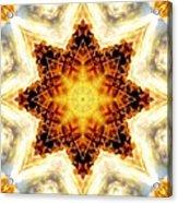 Flower Stars Acrylic Print