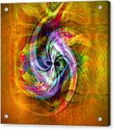 Flower Twist Acrylic Print