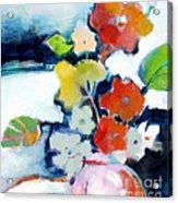 Flower Vase No.1 Acrylic Print