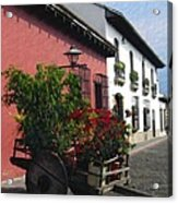 Flower Wagon Antigua Guatemala Acrylic Print