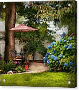 Flower - Westfield Nj - Private Paradise Acrylic Print