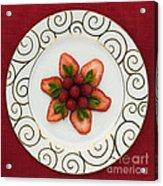 Flowering Fruits Acrylic Print