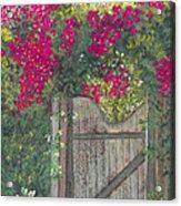 Flowering Gateway Acrylic Print