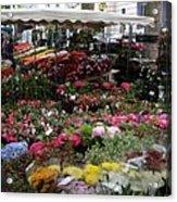 Flowermarket - Tours Acrylic Print