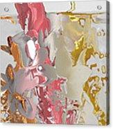 Flowers 2 Acrylic Print by Soumya Bouchachi