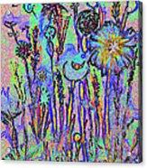 Flowers A1a Acrylic Print