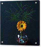 Flowers And Greenery 3 Acrylic Print