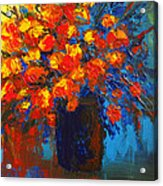 Flowers Are Always Welcome IIi Acrylic Print by Patricia Awapara