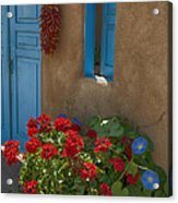 Flowers At Ranchos De Taos Acrylic Print