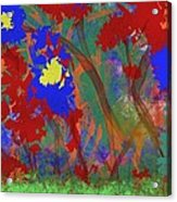 Flowers At Rest Acrylic Print