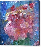 Flowers Bouquet Acrylic Print
