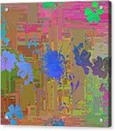 Flowers Cubed 1 Acrylic Print