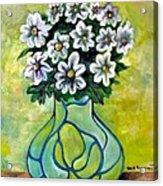 Flowers For Jenny Acrylic Print
