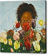 Flowers For You Mama Acrylic Print