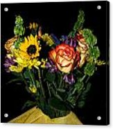 Flowers From The Heart Acrylic Print