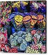 Flowers Galore Acrylic Print