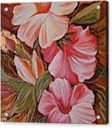Flowers II Acrylic Print