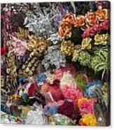 Flowers In Florist Acrylic Print