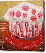 Flowers In The Frosting Acrylic Print