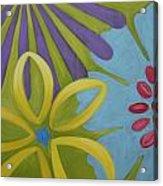 Flowers Iv Acrylic Print