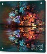 Flowers Of The Night Acrylic Print