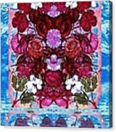 Flowers Touching Souls Acrylic Print