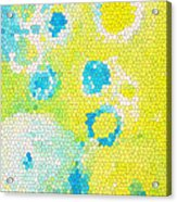 Flowers V Acrylic Print by Patricia Awapara