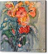 Flowers#1 Acrylic Print