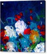 Flowers4 Acrylic Print