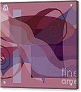 Flowing Geometry2 Acrylic Print