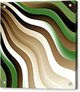Flowing Graphic Acrylic Print