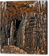 Flowing Metal. Florida Caverns. Acrylic Print