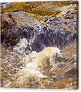 Flowing River Rapids Acrylic Print