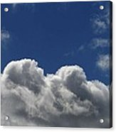 Fluffy Clouds 1 Acrylic Print